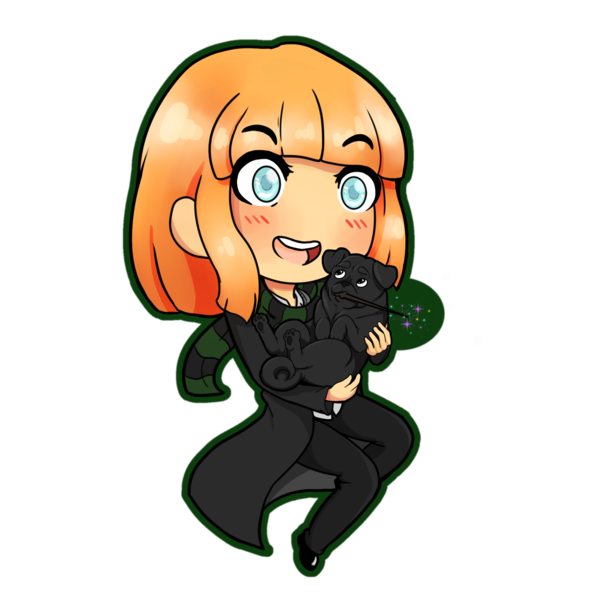 Chibi commission - Digital order - Custom order - Anime Style