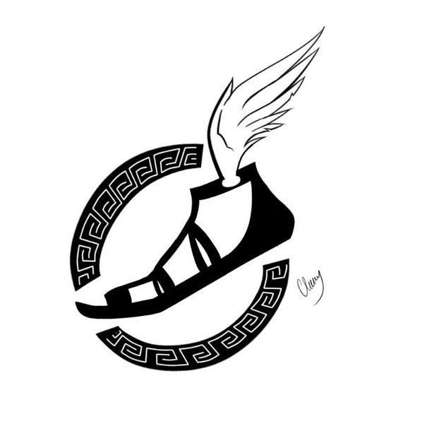 Tattoo black and white