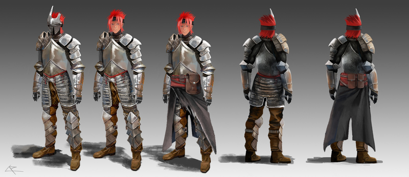 Fully detailed armor