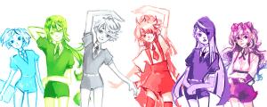Thigh-Up Sketch