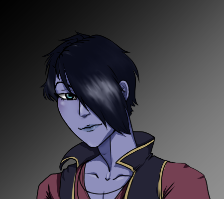 Full colored bust