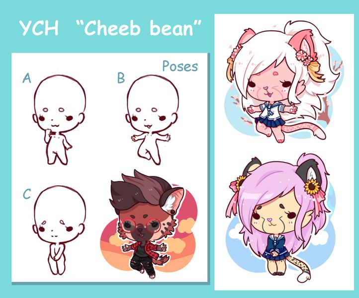 """YCH """"Cheeb bean"""""""