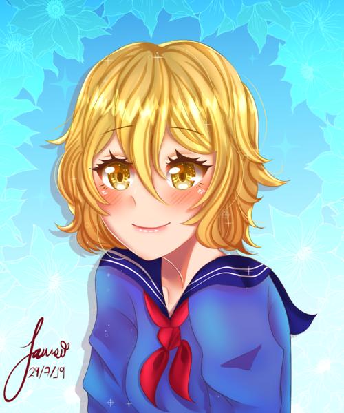 Cute Anime Headshot!