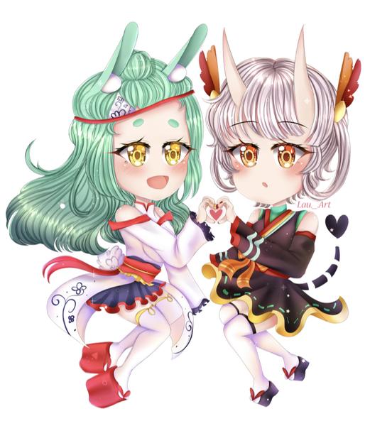 Cute Detailed Chibi Anime Drawing!