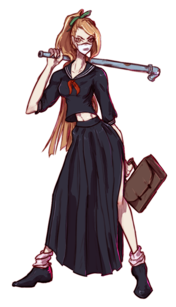 Character Full body, colored