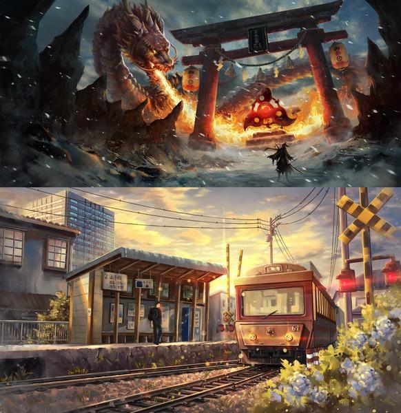 Environment Design & Background Art