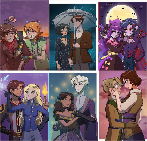 Halfbody Couples Fullcolor