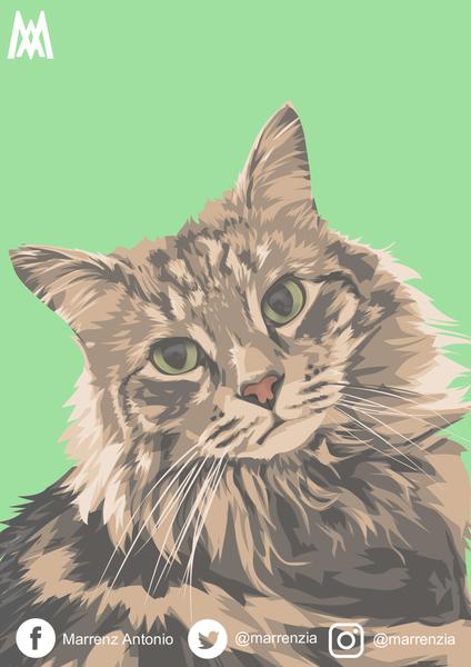 Vector/Vexel Portrait/Pets