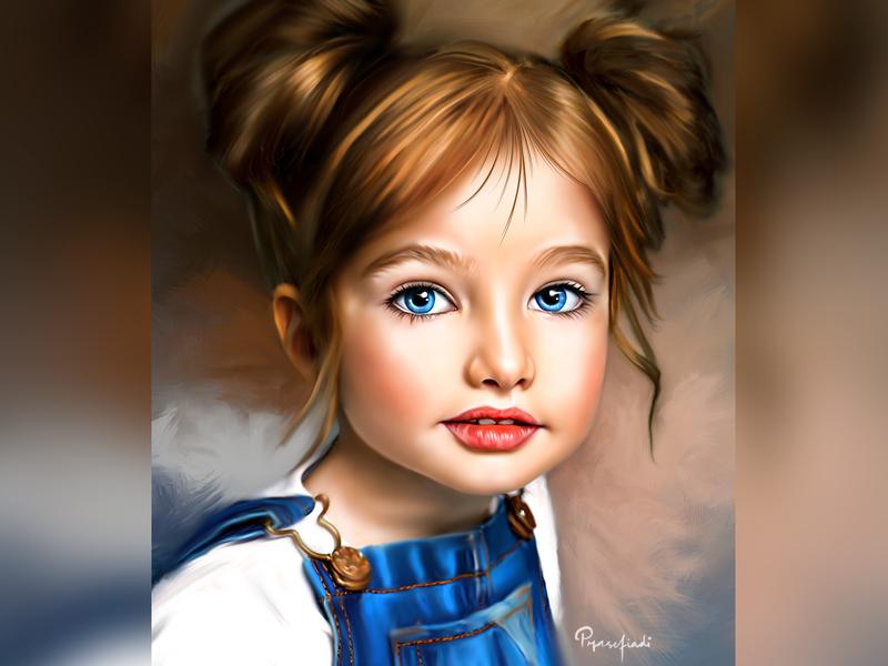 Realistic Digital Painting