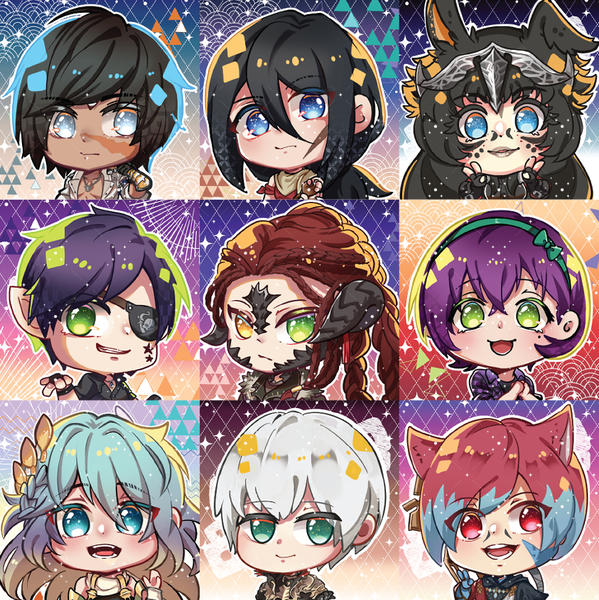 Close-Up Chibi Icon