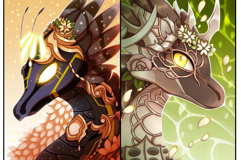 Dragon/Feral Busts