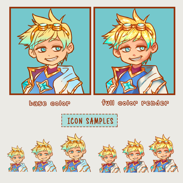 Base Color Waist Up Avatar/Emotes/Icons