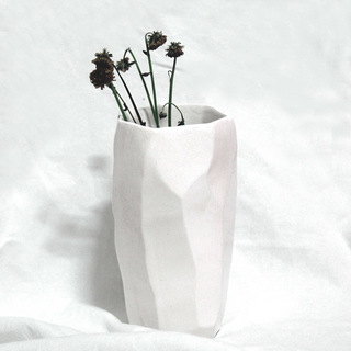 Put An Attic On The Shelf (Black and White Flower)