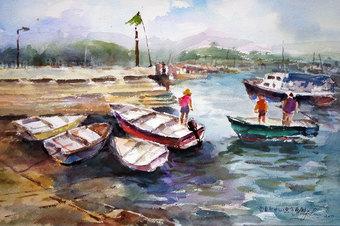 Sai Kung - Fish Boats & Sampans