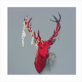 Wild Series - Hand Finished Gold Leaf 1