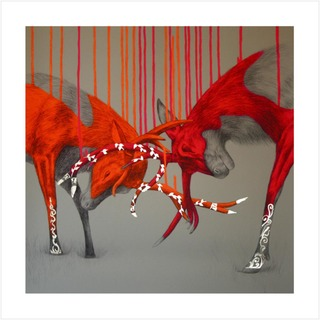 Wild Series - Hand Finished Gold Leaf 2