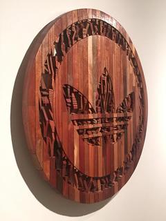 My A.D.I.D.A.S - wooden sculpture