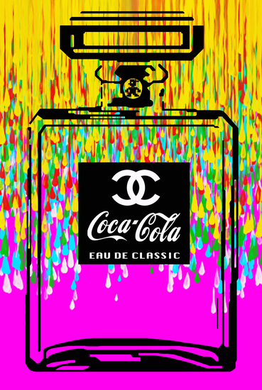 """Coca Chanel Classic """"Drips"""""""
