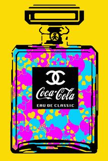 "Coca Chanel Classic ""Funky Skulls"""