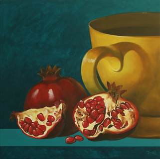 Pomegranate and Tea