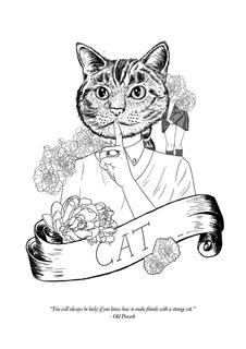 The Menagerie - Cat