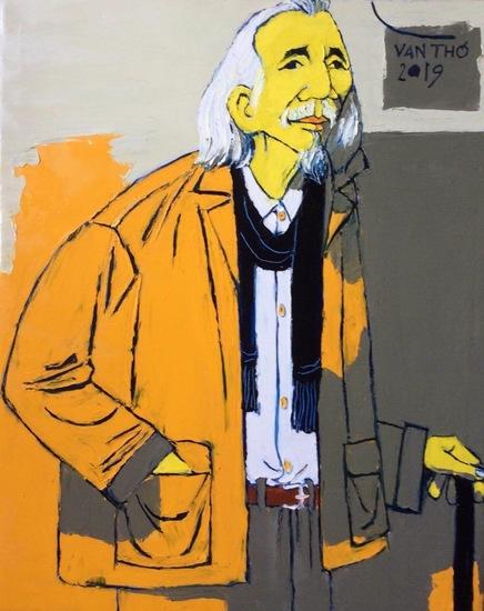 Portrait of Mr. Van Cao