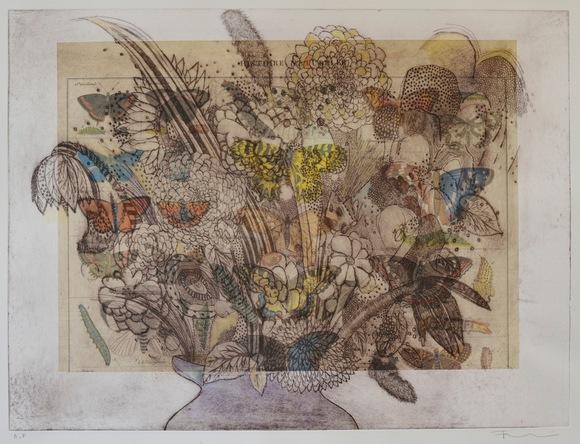 Flowers In A Vase (Histoire Naturelle)
