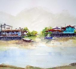 Tai O Fishing Village - Twin Terraces