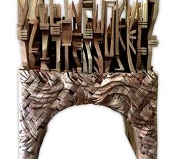 Nibong Kerak - wooden sculpture
