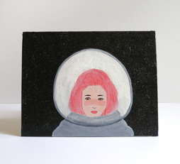 lonely space girl
