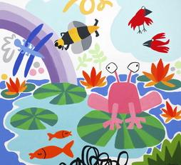 Lily pond life