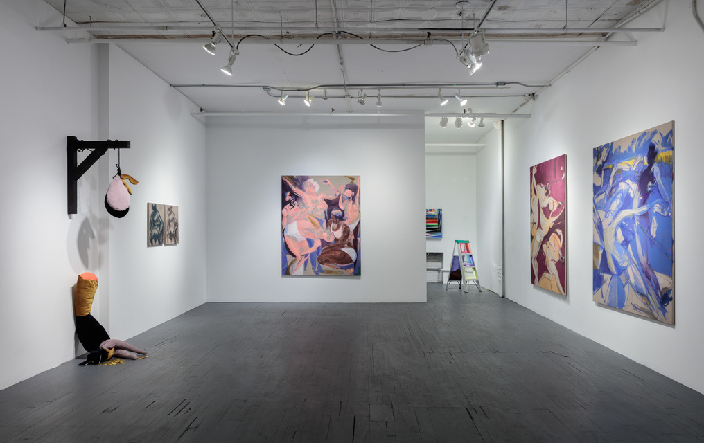Installation View - Tina Schwarz