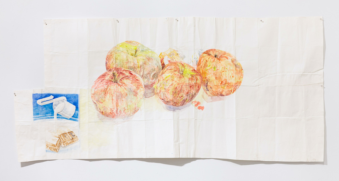 Candy bar and Apples, 2012, 