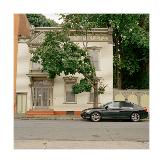 Oldest House in Troy, 18 x 18 in, Archival Print on Canson Baryta Photographique Paper, 2015- 2020, edition of five