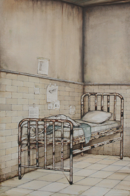 Perpetual Sleep, 2020, oil on canvas, (100 x 150 cm) 59 x 39 in