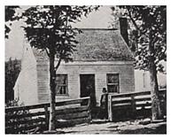 Birthplace in Point Pleasant, Ohio, photo taken circa 1864.