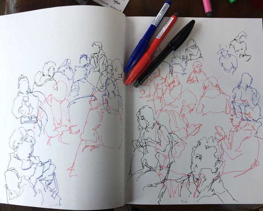 Urban Scribbles, Tina Guo