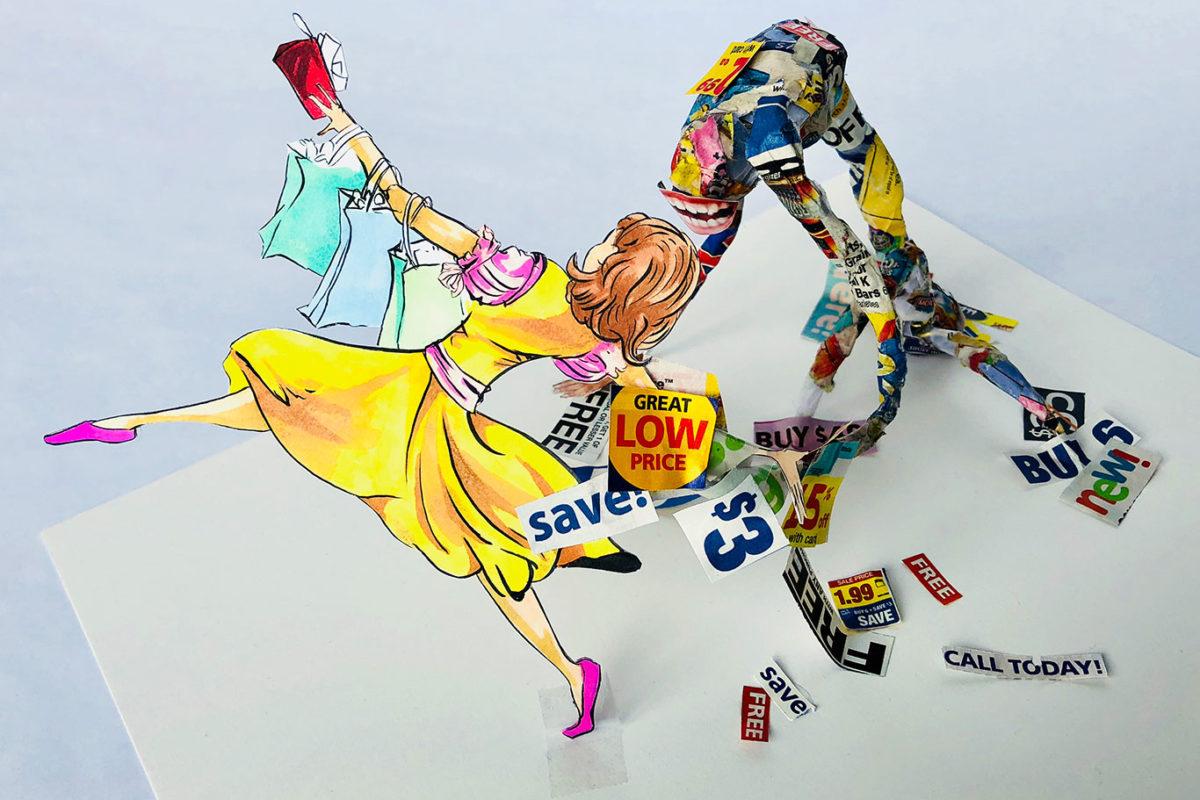 Junk Mail Art, Vivian Kong
