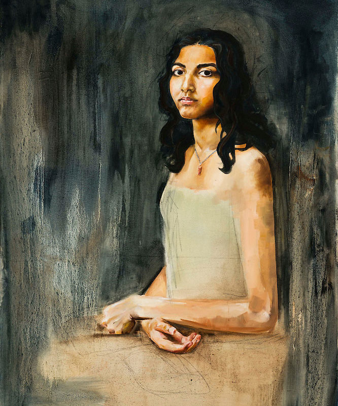 Oil Painting, Anjali Shankar