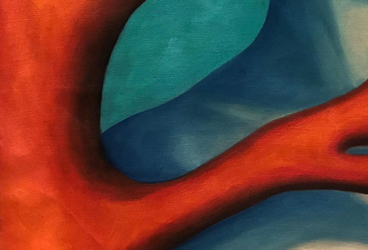 Oil Painting, Ellie Lee