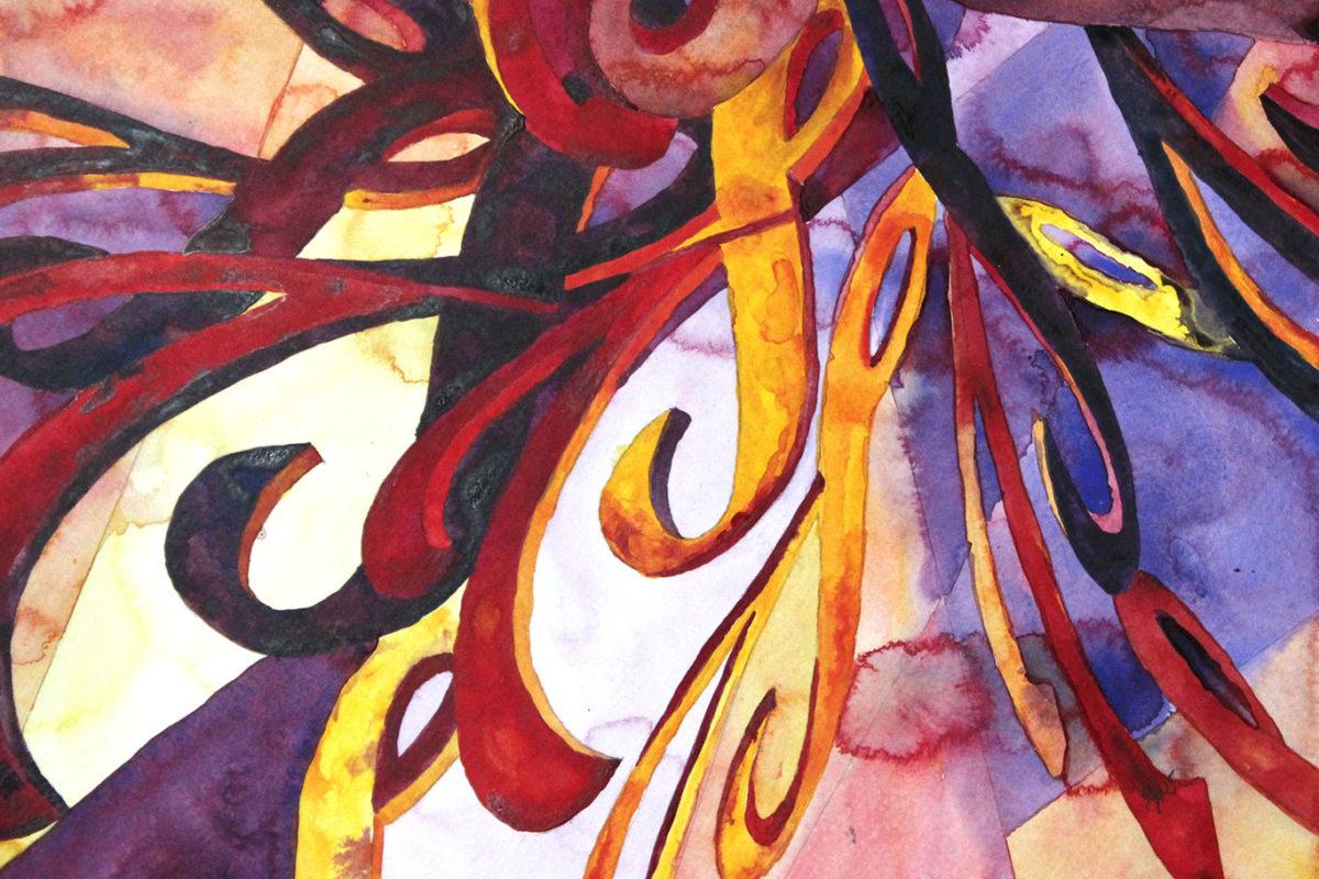Acrylic Painting, Lynda Davis Jeha