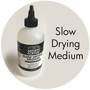 Winsor & Newton Slow Dri Medium