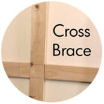 Art Supplies: Cross Brace