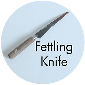 Art Supplies: Fettling Knife