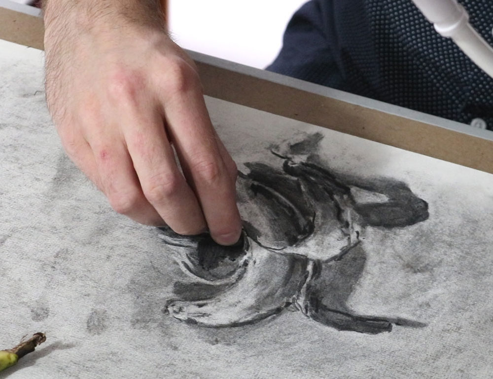 Charcoal Drawing Animation