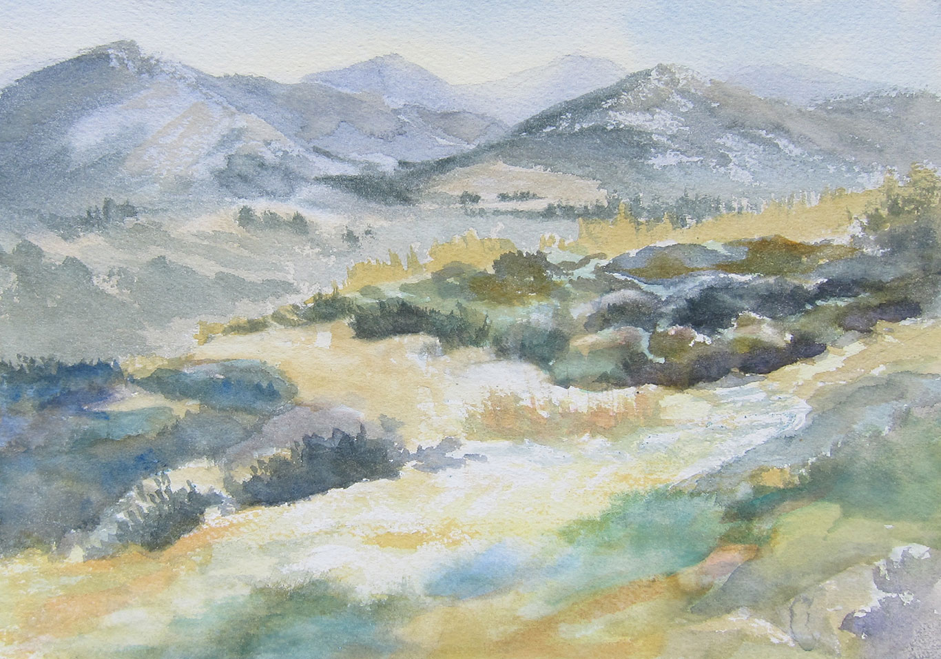 Watercolor Painting, Susan Ploeg