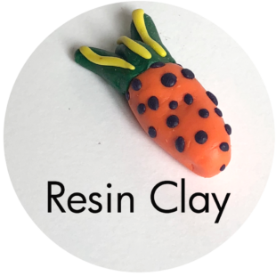 Clay House Art: Resin Clay
