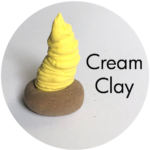 Clay House Art: Cream Clay