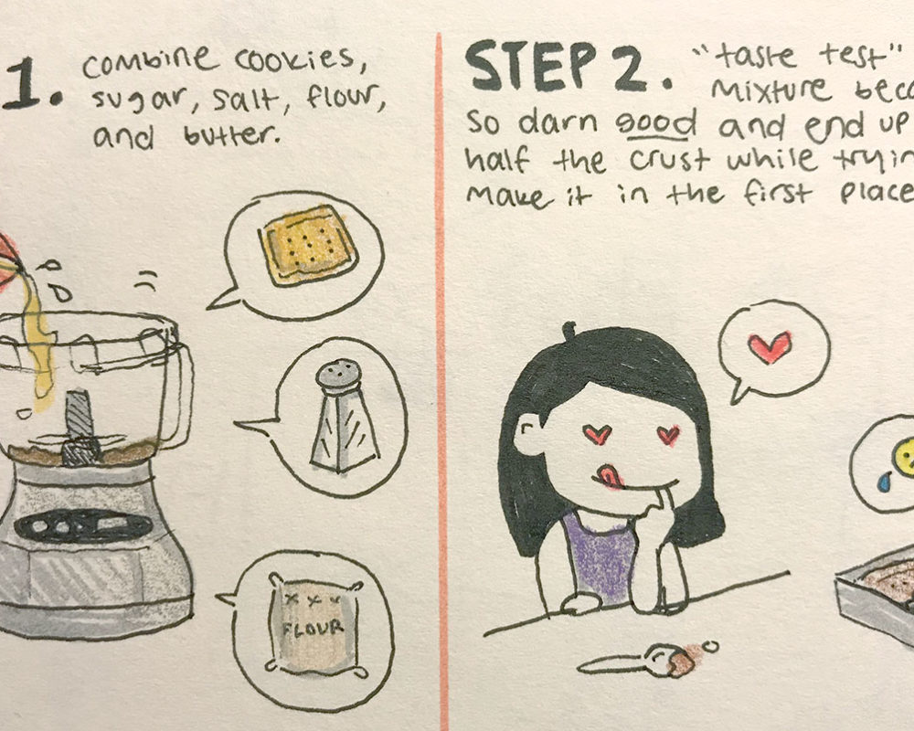 Illustrated Recipe, Ruth Lee