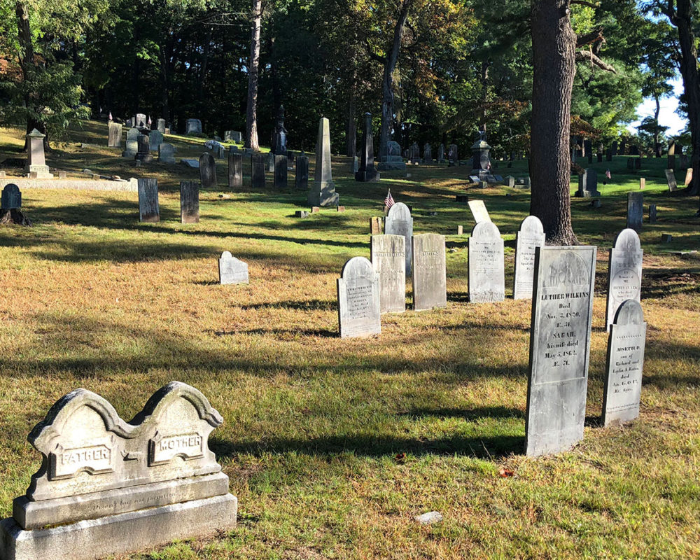 Reference Photo, Sleepy Hollow Cemetery in Concord, MA